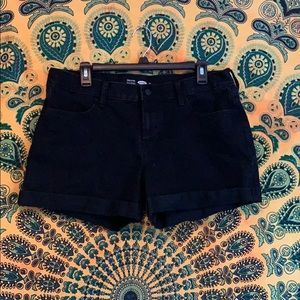 Old navy semi fitted black shorts